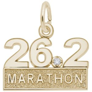 26.2 Marathon With White Spinel