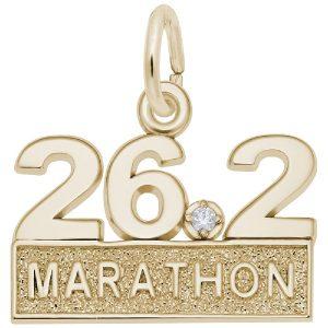 26.2 Marathon With White Spinel