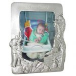 Noah's Ark Pewter Picture Frame Engraved