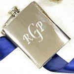 Stainless Flask Engraved holiday