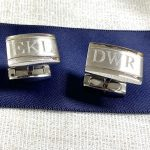 stainless steel cufflinks christmas